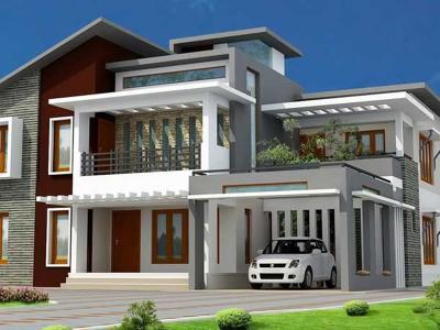 Xây dựng Biệt thự 2 tầng đẹp sang trọng