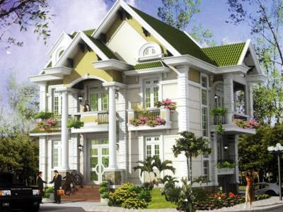 Xây dựng Biệt thự mái thái phong cách