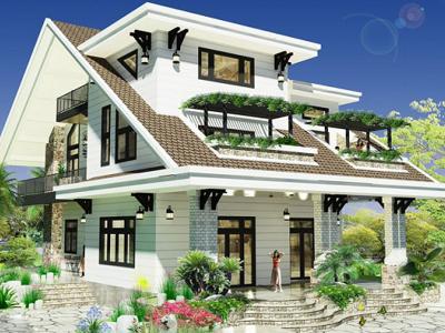 Xây dựng Biệt thự nhà vườn đẹp