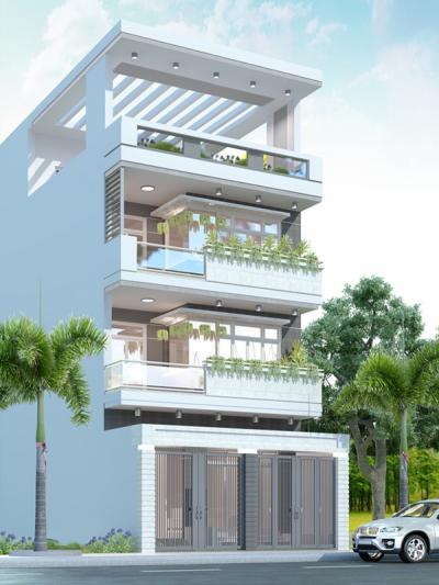 Xây dựng Nhà 3 tầng hiện đại