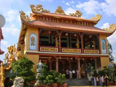 Xây dựng Nhà chùa nhỏ đẹp
