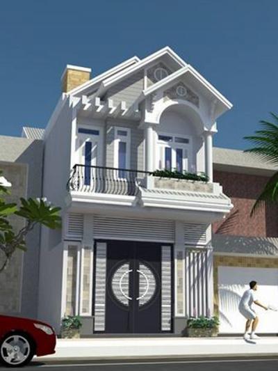 Xây dựng Nhà phố 2 tầng đẹp