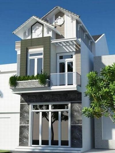 Xây dựng Nhà phố 2 tầng mái thái