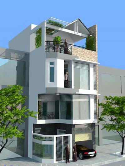 Xây dựng Nhà phố 3 tầng sang trọng