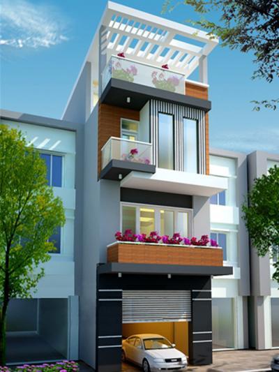 Xây dựng Nhà phố đẹp hiện đại