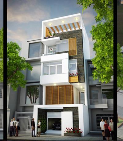 Xây dựng Nhà phố đẹp