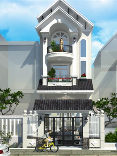 Xây dựng Nhà phố hiện đại sang trọng