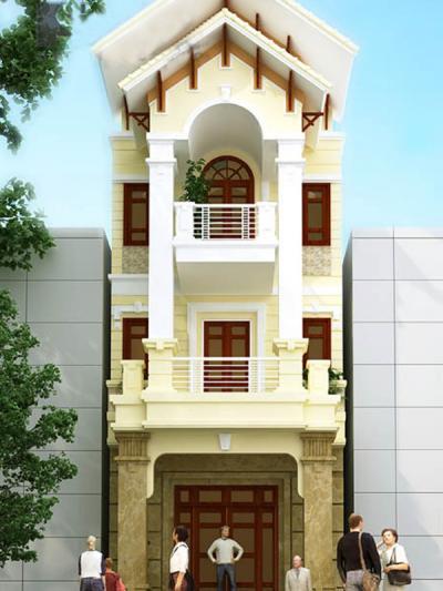 Xây dựng Nhà phố sang trọng hiện đại
