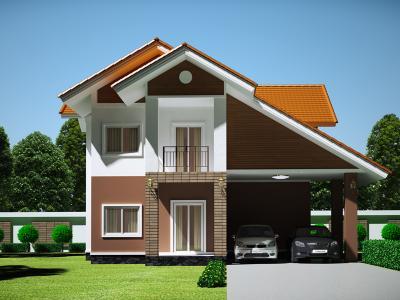 Xây dựng Biệt thự 2 tầng phong cách