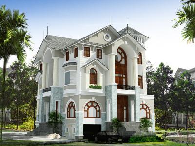 Xây dựng Biệt thự kiểu pháp