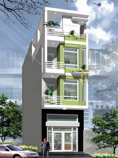 Xây dựng Nhà 3 tầng đẹp