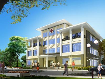 Xây dựng Trạm y tế đẹp