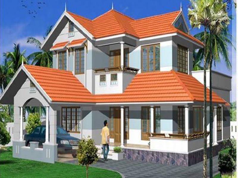 Xây dựng Nhà biệt thự 2 tầng phong cách