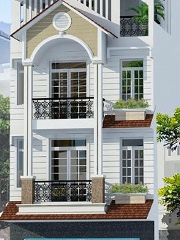 Xây dựng Nhà phố 3 tầng đẹp hiện đại