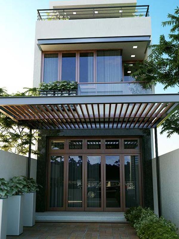 Xây dựng Nhà phố đẹp hiện đại phong cách