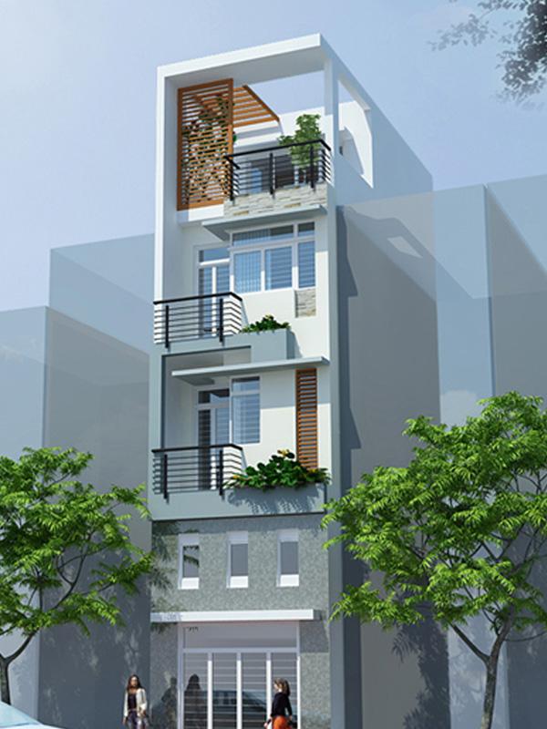 Xây dựng Nhà phố phong cách